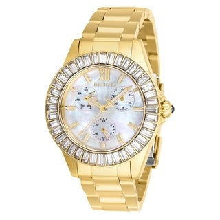 Link to Invicta Women's 28452 'Angel' Gold-tone Stainless Steel Watch Similar Items in Women's Watches