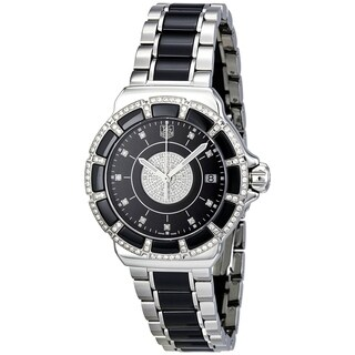 Tag Heuer Women's WAH1219.BA0859 'Formula 1' Diamond Two-Tone Stainless Steel and Ceramic Watch