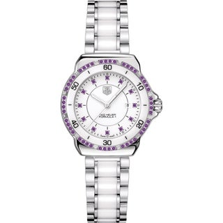 Tag Heuer Women's WAH1318.BA0868 'Formula 1' Diamond Two-Tone Stainless Steel and Ceramic Watch