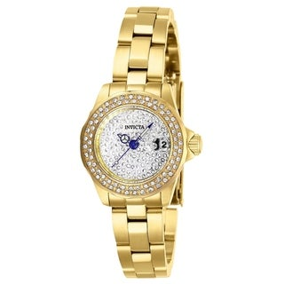 Invicta Women's 28456 'Angel' Gold-tone Stainless Steel Watch
