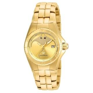 TechnoMarine Women's TM-115186 'Cruise Dream' Gold-Tone Stainless Steel Watch