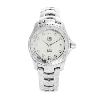 Link to Tag Heuer Women's WJ1319.BA0572 'Link' Diamond Stainless Steel Watch Similar Items in Women's Watches