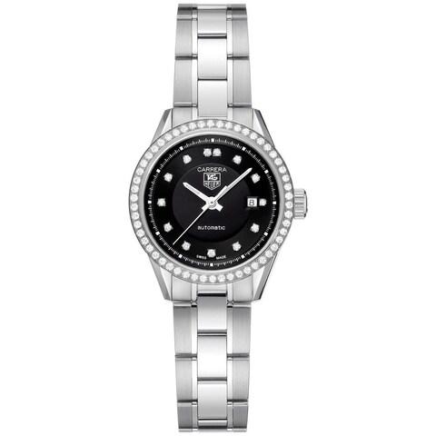 Tag Heuer Women's WV2412.BA0793 'Carrera' Diamond Automatic Stainless Steel Watch