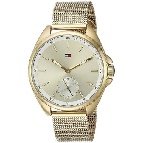Tommy Hilfiger Women's 1781757 'Sport' Gold-Tone Stainless Steel Watch