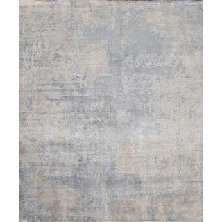 Pasargad Modern Collection Hand-Loomed Bamboo Silk Rug - 8' x 10'