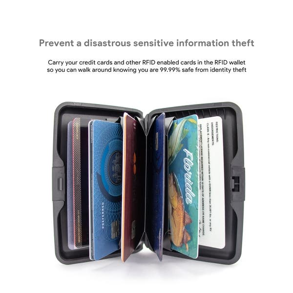 8a54a4dc744c Shop Miami CarryOn RFID Wallet/Credit Card Holder - Prevent Identity ...