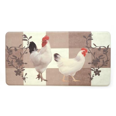 Stephan Roberts Premium Kitchen Anti Fatigue Floor Mat, Fall Chicken, 20 x 39 in. - N/A
