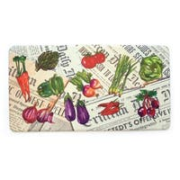 Stephan Roberts Premium Kitchen Anti Fatigue Floor Mat, Daily Vegetables, 20 x 39 in. - N/A