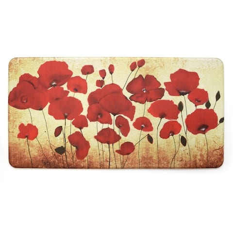 Stephan Roberts Premium Kitchen Anti Fatigue Floor Mat, Poppies, 20 x 39 in. - N/A