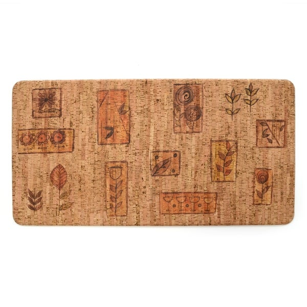 Stephan Roberts Premium Kitchen Anti Fatigue Floor Mat, Rosette's Vintner's, 20 x 39 in. - N/A