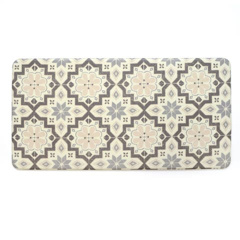 Stephan Roberts Premium Kitchen Anti Fatigue Floor Mat, Tunisian Tile, 20 x 39 in. - N/A