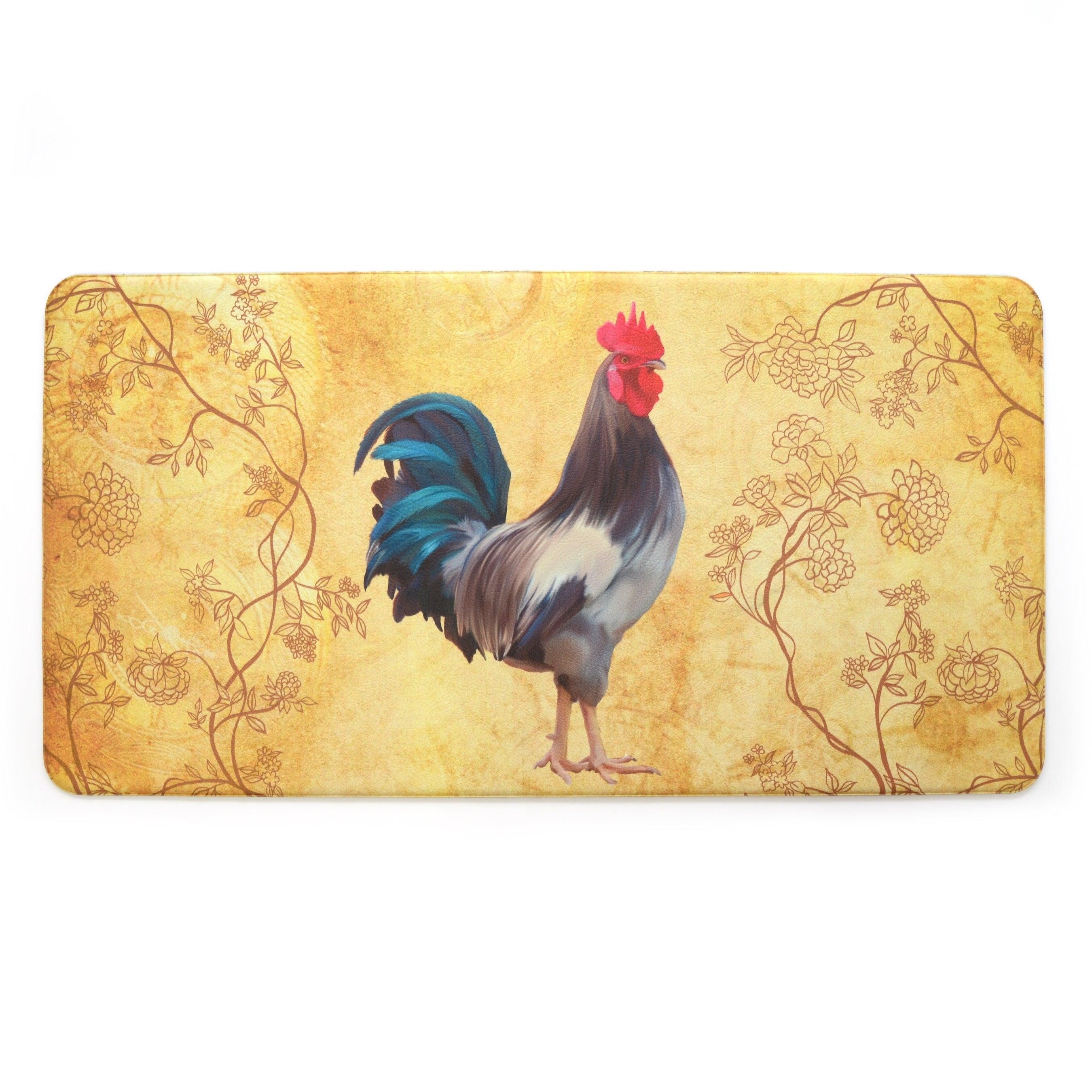 Stephan Roberts Premium Kitchen Anti Fatigue Floor Mat Harvest Rooster 20 X 39 In Overstock 22750353
