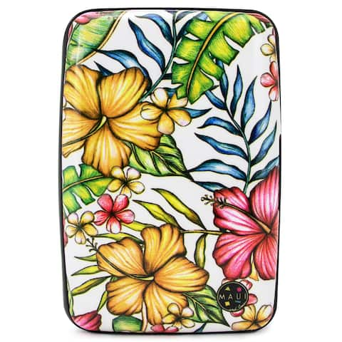 Maui and Sons RFID Wallet/Credit Card Holder - Prevent Identity Theft