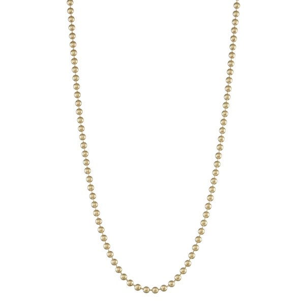 14k White Gold 2.0mm Singapore Chain Necklace