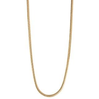 Gioelli 14K Gold Herringbone Chain Necklace 2.65mm