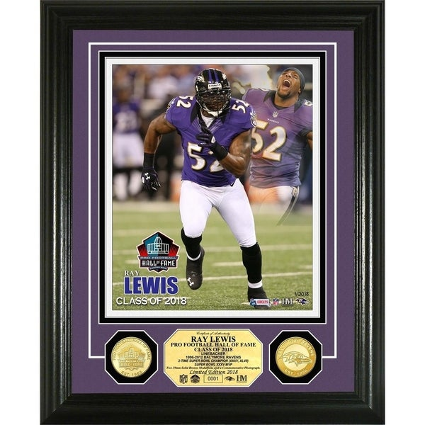 17a309034a17e Shop Ray Lewis 2018 Pro Football Hall of Fame Induction Bronze Coin Photo  Mint - Free Shipping Today - Overstock - 22750524