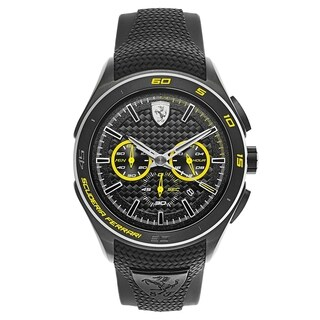 Ferrari Gran Premio Black and Yellow Men's Watch