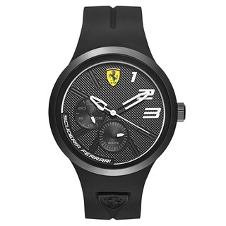 Ferrari FXX Black and White Men's Watch