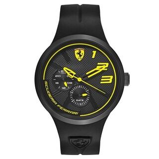 Ferrari FXX Black and Yellow Men's Watch