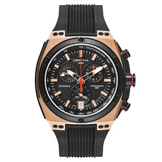 Certina DS Eagle Chronograph Rose Gold Case Men's Watch