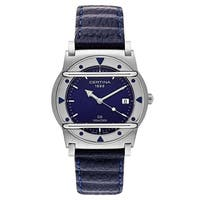 Certina DS Cascadeur Blue Leather Strap Men's Watch