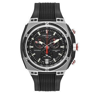 Certina DS Eagle Chronograph Silver Case Men's Watch
