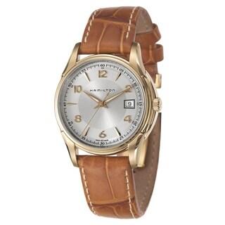 Hamilton Jazzmaster Cognac Leather Strap Men's Watch