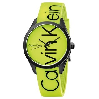 Calvin Klein Color Silicone Strap Men's Watch