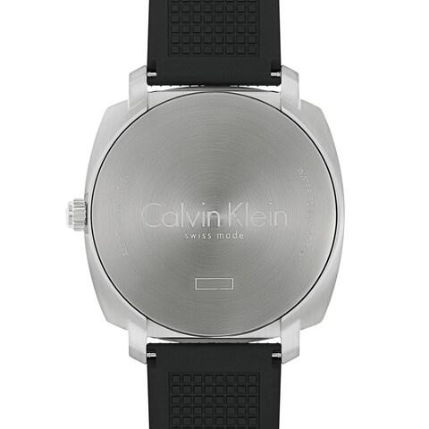 Calvin Klein Highline Black Rubber Strap Men's Watch