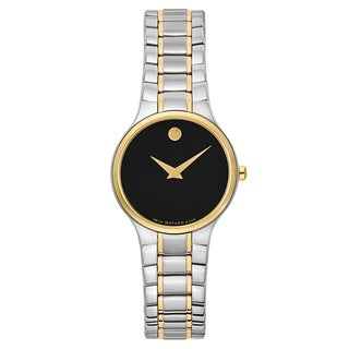 Movado Serio Silver and Gold Women's Watch
