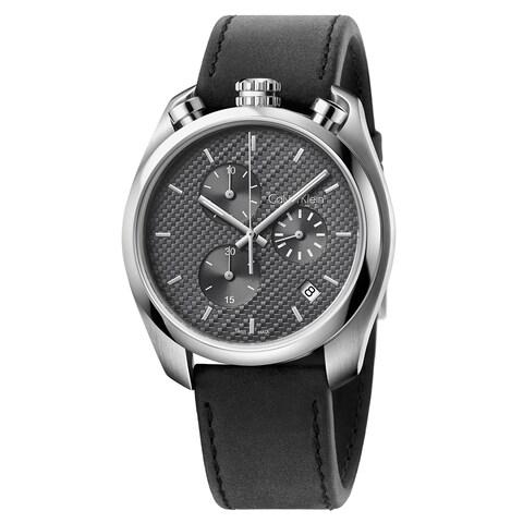 Calvin Klein Control Leather Strap Men's Watch