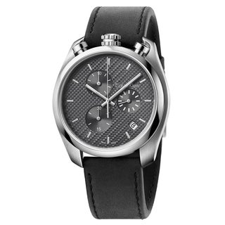 Calvin Klein Control Leather Strap Men's Watch
