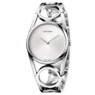 Calvin Klein Round Silver Women's Watch