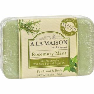 A La Maison Rosemary Mint 8.8-ounce Bar Soap