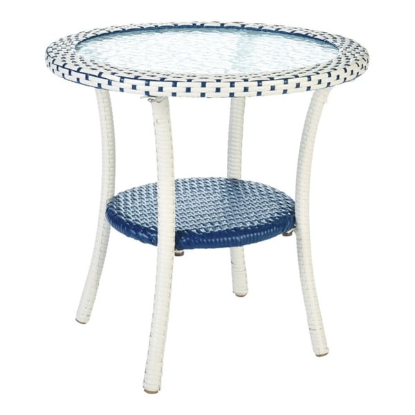 Shop Living Accents Blue Cavalia Bistro Table Overstock