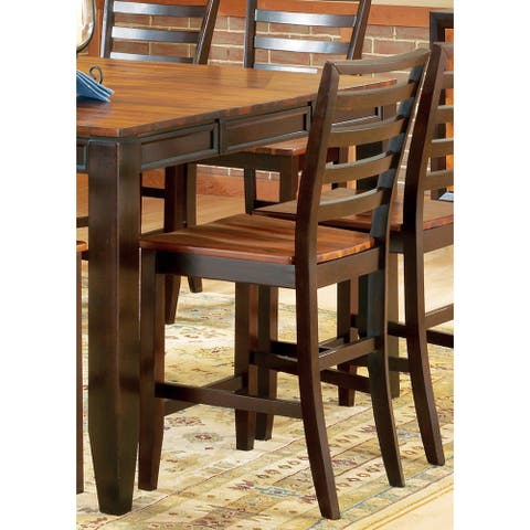 Copper Grove Jeanette Acacia 24-inch Counter-height Stool (Set of 2)
