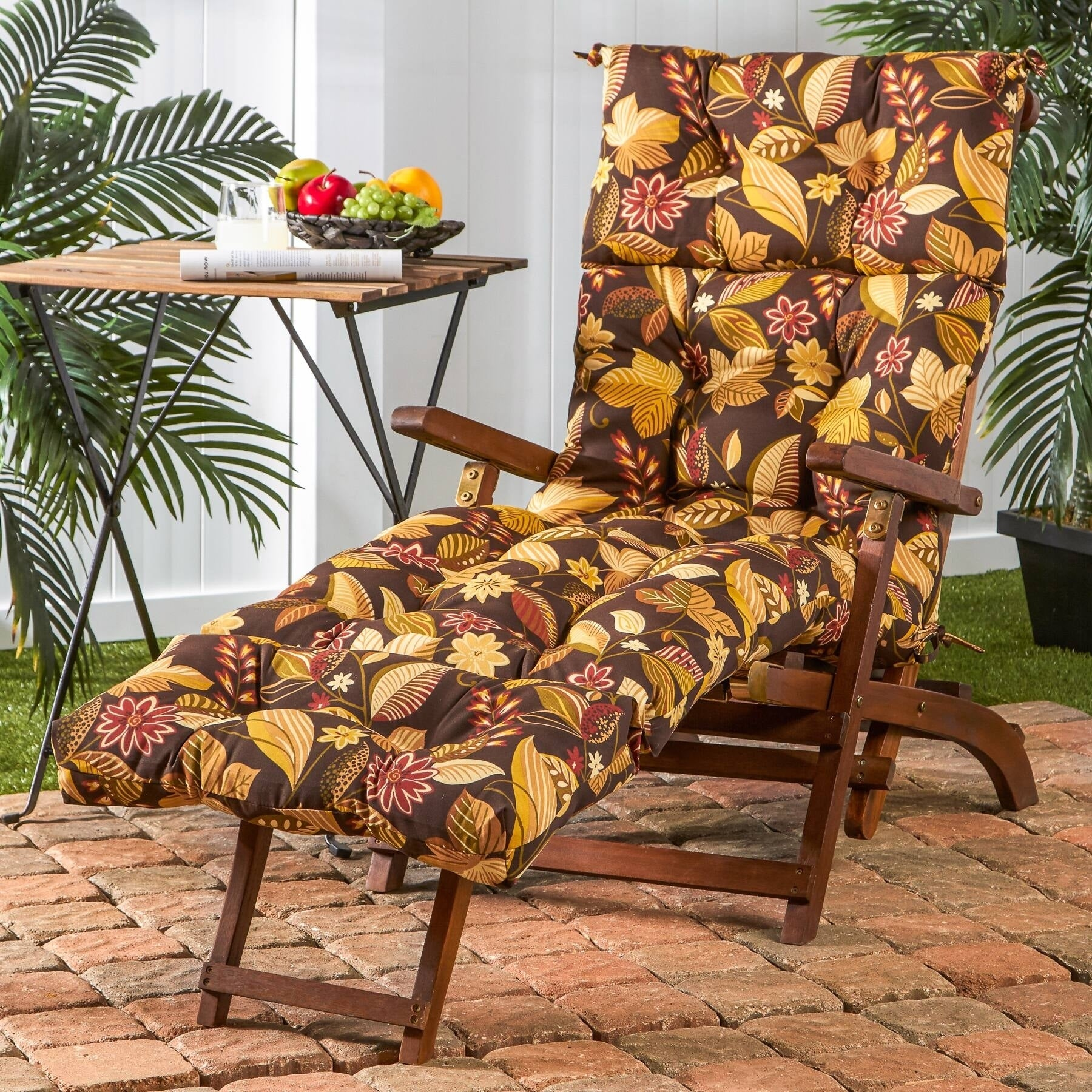 Eastport Outdoor Chaise Lounge Cushion by Havenside Home ...