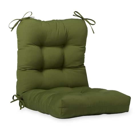 Eastport 21-inch x 42-inch Outdoor Seat/Back Chair Cushion by Havenside Home - 21w x 42l - 21w x 42l