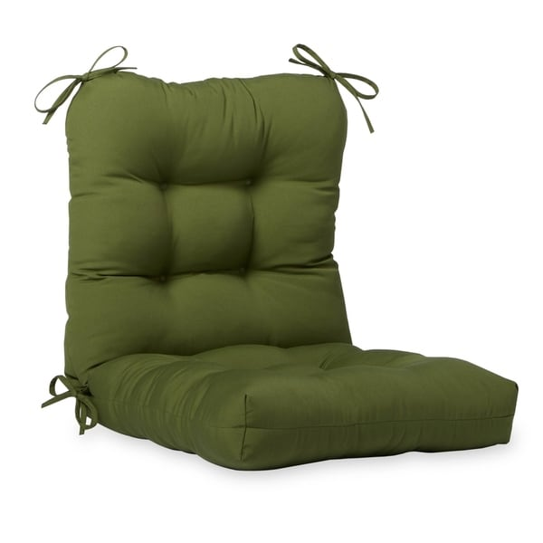 Eastport 21-inch x 42-inch Outdoor Seat/Back Chair Cushion by Havenside Home - 21w x 42l