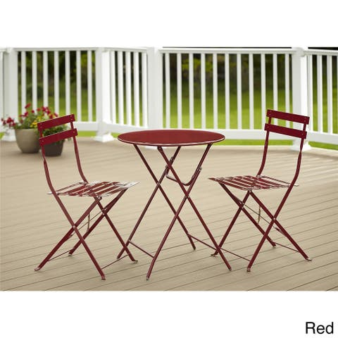 Havenside Home Amelia 3-piece Folding Bistro Set