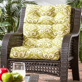 Cocoa Beach 22-inch x 44-inch Outdoor High Back Chair Cushion by Havenside Home - 22w x 44l