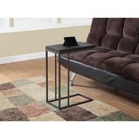Porch & Den Lochwood Colbert Cappuccino/Bronze Metal Accent Table