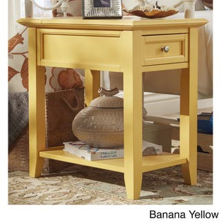 Porch Den Shadyside Devonshire 1 Drawer Side Table With Charging Station