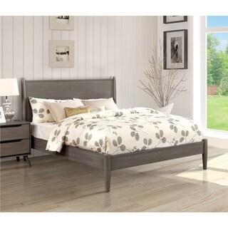 Carson Carrington Svinninge Queen-size Wooden Paneled Platform Bed