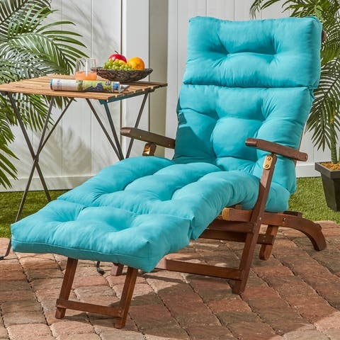 Driftwood Outdoor Chaise Lounger Cushion by Havenside Home