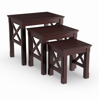 Porch & Den Melwood 3-piece Nesting Table