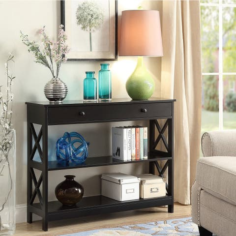 Copper Grove Cranesbill 1-drawer Console Table