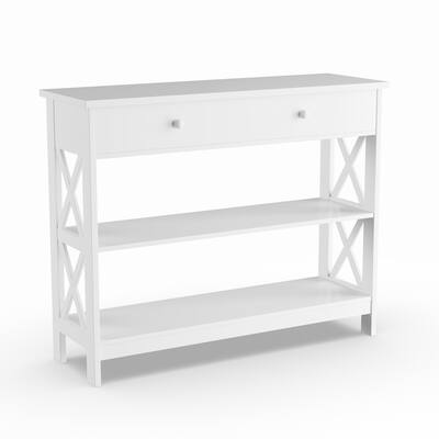 White Console Tables Online At