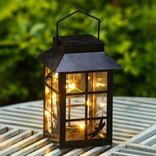 Link to Hudson Solar Light Lantern by Havenside Home Similar Items in Outdoor Decor