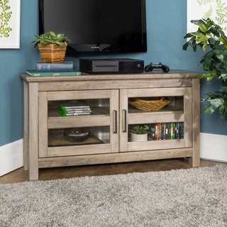 Carbon Loft Ethel 44-inch Corner Wood TV Stand